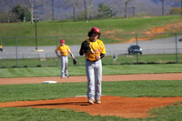 Liberty Bell vs Grandview Middle School Baseball 3-28-16