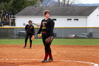 Science Hill vs Elizabethton Varsity Softball 3-11-17